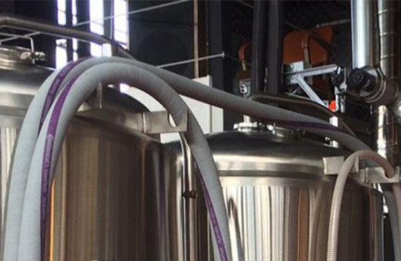 Pipes at Freerange Brewing