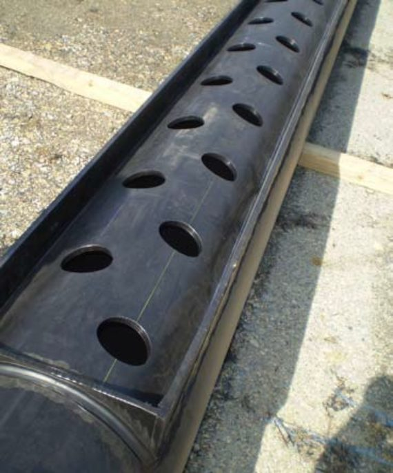 Perforated HDPE pipe in Washington